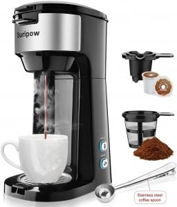 Suripow Single Serve Coffee And Tea Maker