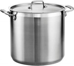 Tramontina 80120 002ds Gourmet Twenty Quart Stainless Steel Stockpot