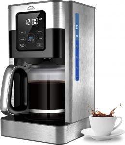 Weeks Programmable 12 Cup Coffee Maker