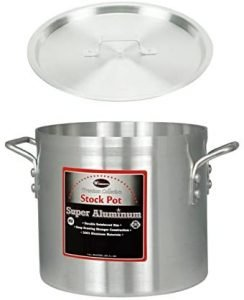 Winco Axs 20 Twenty Quart Aluminum Stockpot