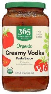 365 By Whole Food Market Organic Vodka Pasta Sauce