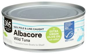 365 By Whole Foods Market Canned Tuna In Extra Virgin Olive Oil