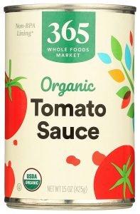 365 By Whole Foods Market Organic Tomato Sauce