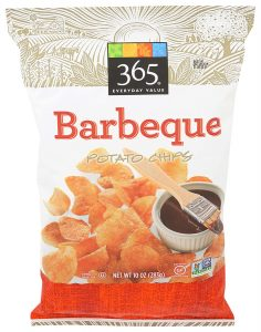 365 By Whole Foods Market, Potato Chips Barbeque California