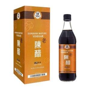 52usa Chinkiang Vinegar, Chinese Black Vinegar
