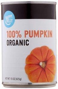 Amazon Brand Happy Belly Organic Pumpkin