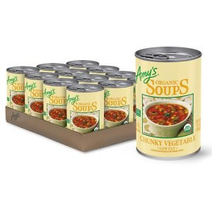 Amy's Kitchen Chunky Fat Free Vegetable Soup