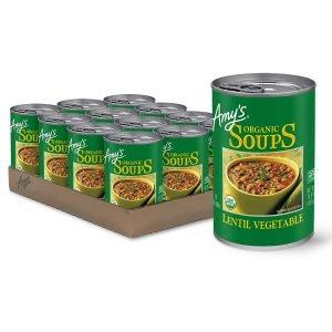 Amy's Lentil Vegetable Soup