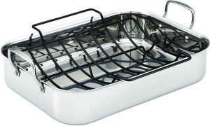 Anolon Triply Clad Stainless Steel Roaster