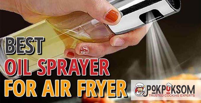Best Oil Sprayer For Air Fryer