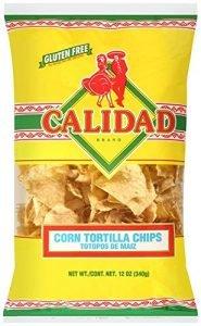 Calidad Yellow Corn Tortilla Chips
