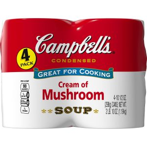 Campbell Condensed Cream Of Mushroom Soup