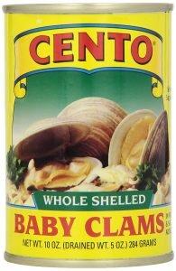Cento Whole Baby Clams