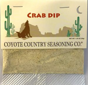Coyote Country's Crab Dip Mix