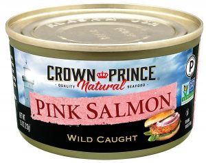 Crown Prince Canned Natural Pink Salmon