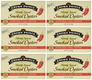 Crown Prince Mildly Spiced Smoked Oysters