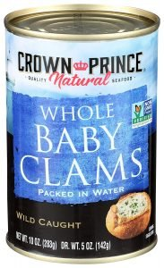 Crown Prince Natural Boiled Baby Clams