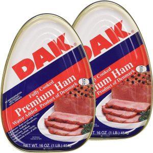 Dak Premium Fully Cooked Canned Ham