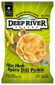 Deep River New York Spicy Dill Pickle Chips