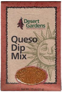 Desert Gardens Queso Dip