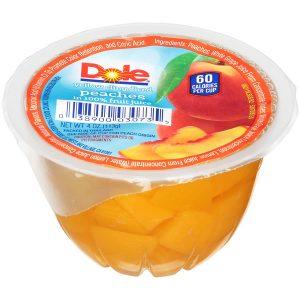 Dole Fruit Bowls Diced Peaches
