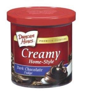 Duncan Hines Creamy Home Style Dark Chocolate Fudge Frosting