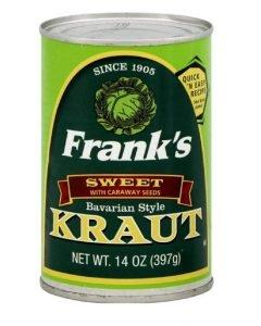 Frank's Bavarian Sauerkraut