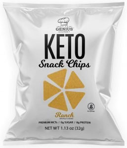 Genius Gourmet Protein Keto Chips