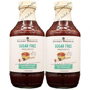 Gourmet Warehouse Sugar Free Bbq Sauce