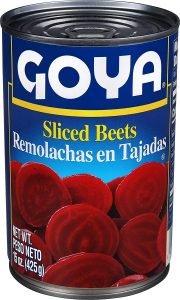 Goya Foods Sliced Beets