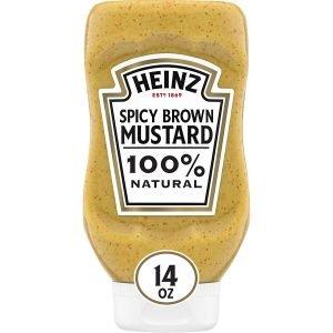 Heinz Spicy Brown Mustard