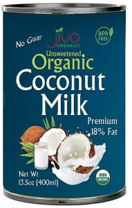 Jiva Canned Coconut Milk