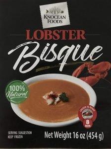 Knocean Foods Lobster Bisque