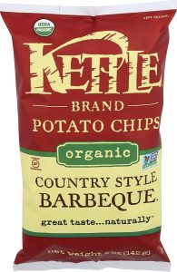 Kettle Foods, Chips Potato Barbecue Country Style Organic