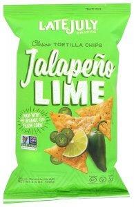 Late July Snacks Clásico Jalapeño Lime Tortilla Chips