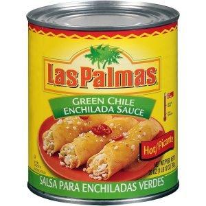 Las Palmas Hot Green Enchilada Sauce