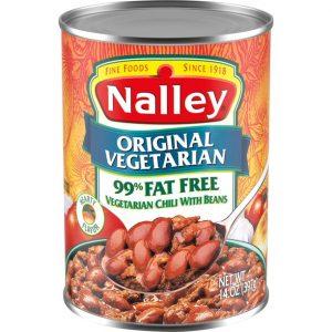 Nalley Original Vegetarian Chili With Beans