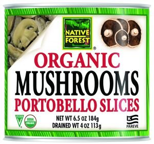 Native Forest Organic Sliced Portobello Mushrooms