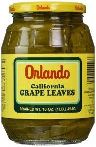 Orlando California Canned Dolmas
