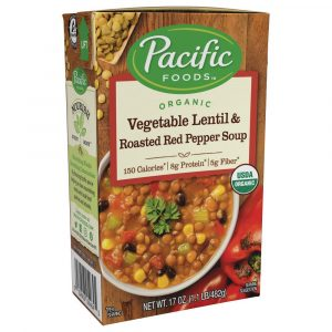 Pacific Organic Vegetable Pepper Soup
