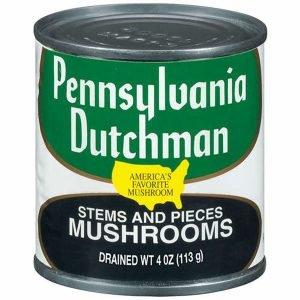 Pennsylvania Dutchman Stems And Pieces Can, Mushrooms