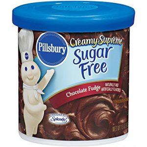 Pillsbury Creamy Sugar Free Chocolate Fudge Frosting