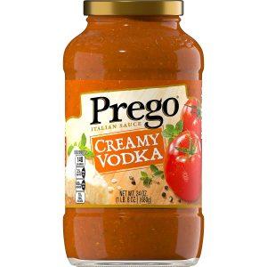 Prego Creamy Tomato Vodka Sauce