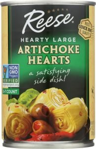 Reese Large 14 Ounces Artichoke Hearts