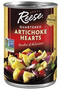 Reese Quartered 14 Oz Artichoke Hearts