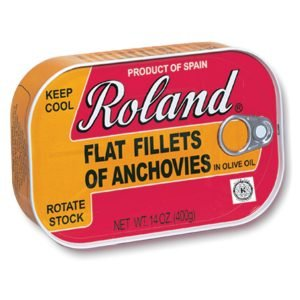 Roland Foods Flat Anchovy