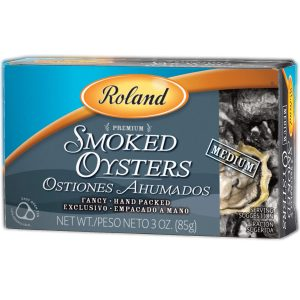 Roland Oysters, Medium Smoked