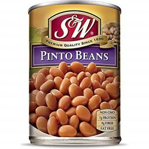 S & W Canned Pinto Beans