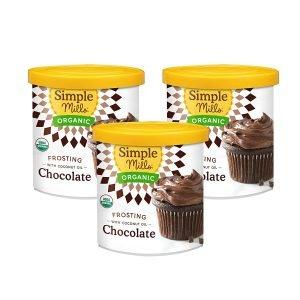 Simple Mills Organic Milk Chocolate Frosting