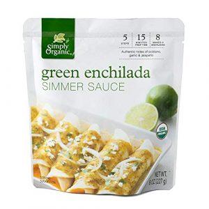 Simply Organic Green Enchilada Simmer Sauce
